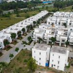BlueJay Aster villas - Premium Luxury Villas - Row Villas Aerial View