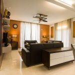 BlueJay Aster luxury villas in bangalore - Living Room View3