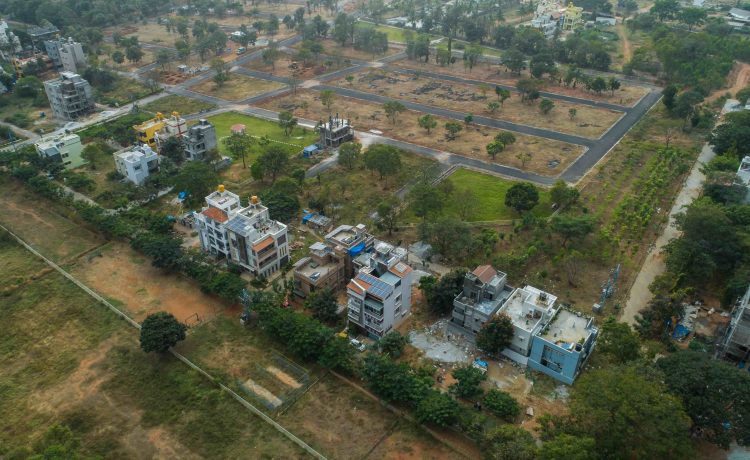 BlueJay Aster - Villa Plots In Bangalore - Layout View