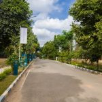 BLUEJAY ATMOSPHERE II - Villa Plots In North Bangalore - Entrance Street
