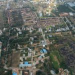 BLUEJAY ATMOSPHERE II - Villa Plots In North Bangalore - layout Aerial View