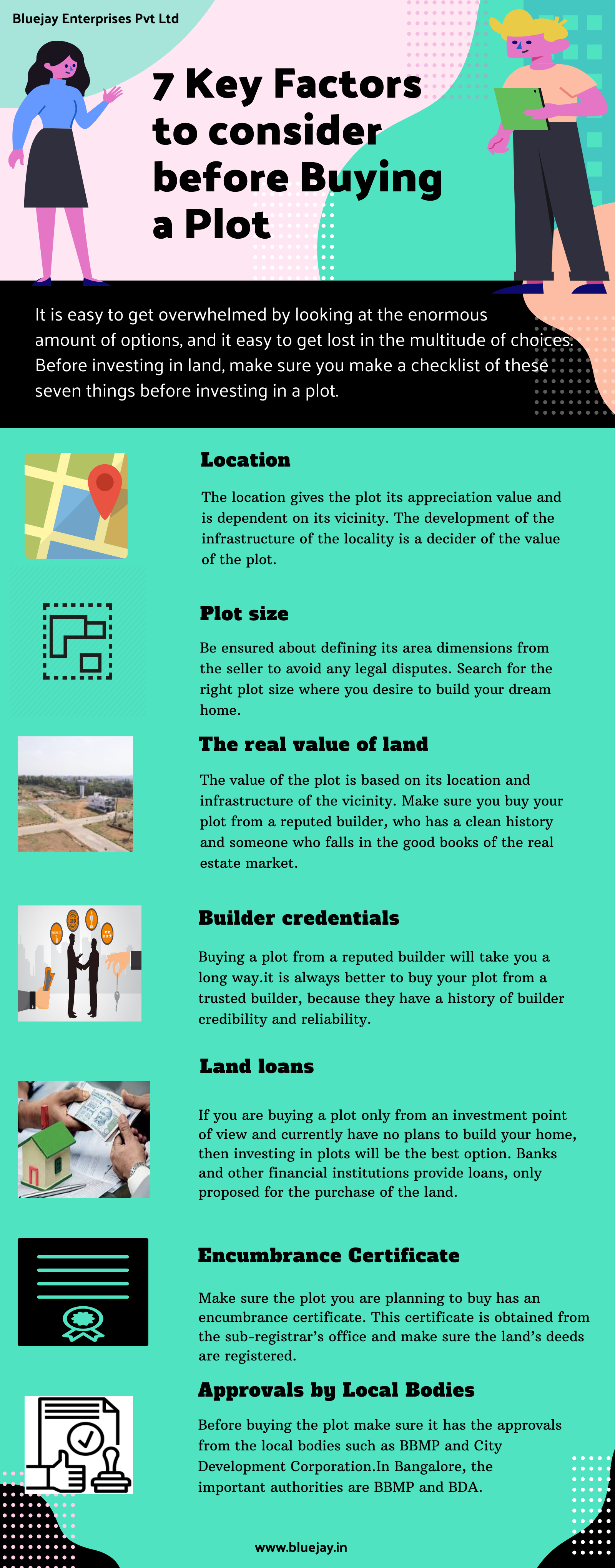 7 key factors to consider before buying a plot
